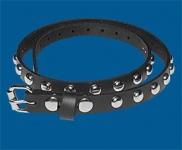 1-Row Dot Checkered Belt