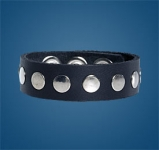 1-Row Rivet Wristband
