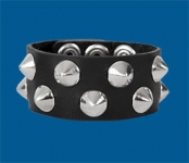 2-Row Cone Checkered Wristband