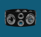 2-Row Multi-Grommet Wristband