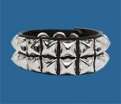 2-Row Pyramid Wristband