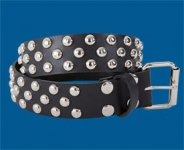3-Row Dot Checkered Belt