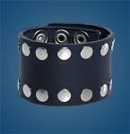 3-Row Rivet Wristband
