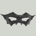 Handcrafted Bat Winged Mask - Black