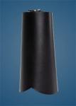 Plain Black Arm Gauntlet