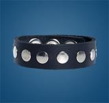 1-Row Rivet Wristband