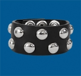 2-Row Dot Checkered Wristband