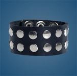 2-Row Rivet Wristband