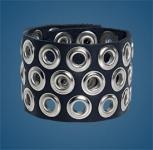 3-Row Grommet Wristband
