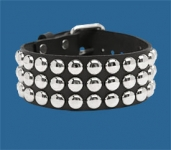 3-Row Dot Collar