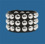 3-Row Dot Wristband