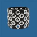 4-Row Grommet Wristband