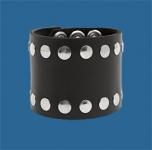 4-Row Rivet Wristband